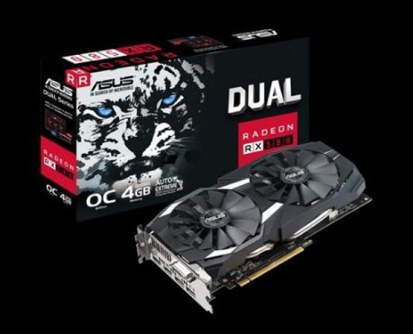 Grafička kartica Asus DUAL-RX580-O4G