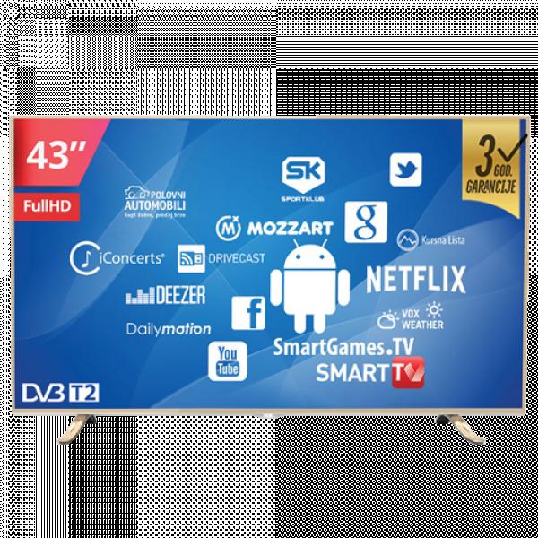 VOX- TV LED 43YSD350A