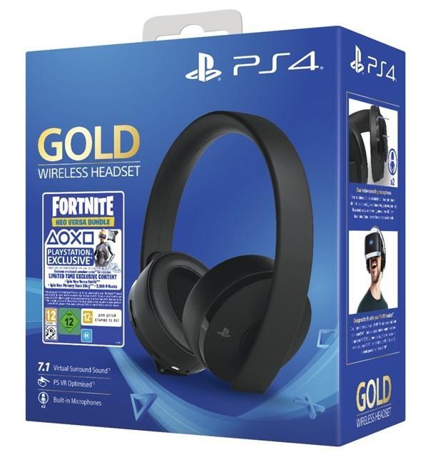Slušalice PS Fortnite Gold