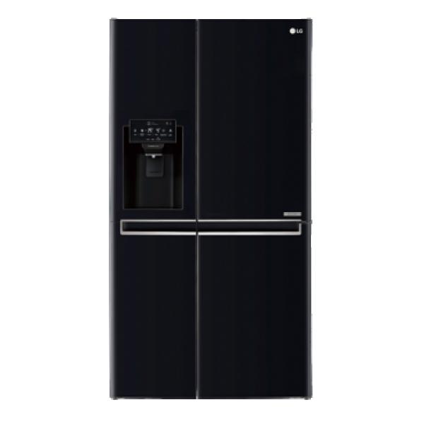 LG Side by side frižider GSJ760WBXV No Frost, A+, 405 l, 196 l