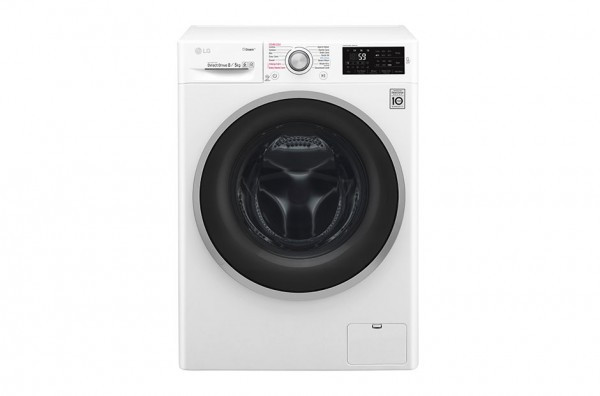 LG Mašina za pranje i sušenje veša F4J6TG1W, A, 1400 obrmin, 8kg5kg