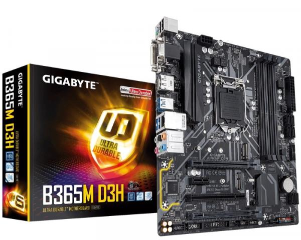 GIGABYTE B365M D3H rev. 1.0
