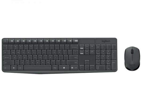 LOGITECH MK235 Wireless Combo YU tastatura + miš