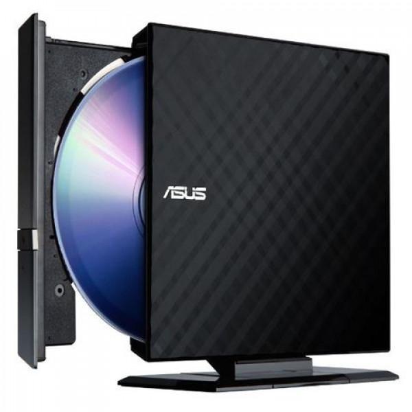 Eksterni optički uređaj Asus SDRW-08D2S-U LITE USB crni