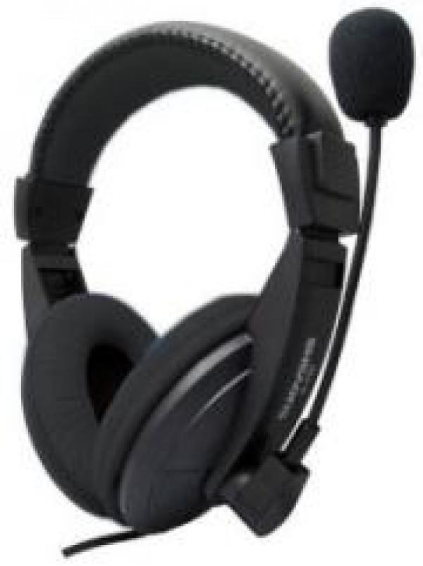 Slušalice UBIT UB-89 CLOUD BLACK 3,5mm + mikrofon