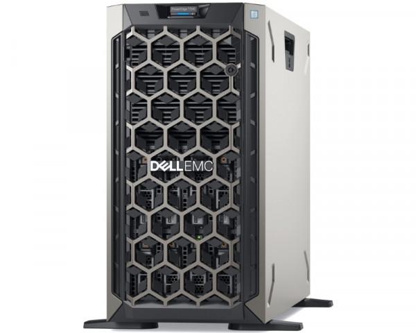 DELL PowerEdge T340 Xeon E-2124 4C 1x16GB 2TB NLSAS H330 495W (1+0) 3yr NBD