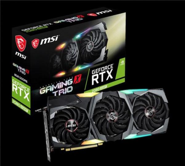 VGA PCIe MSI RTX 2080 SUPER GAMING X TRIO