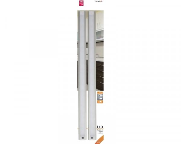 AVIDE ABLSCAB-60NW-BL2 9W 4000k 2x60cm osvetljenje za kuhinjsku ploču sa senzorom pokreta