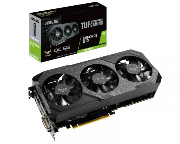 ASUS nVidia GeForce GTX 1660S TUF 3-GTX1660S-O6G-GAMING