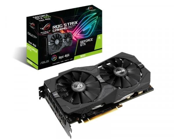 ASUS nVidia GeForce GTX 1650 4GB 128bit ROG-STRIX-GTX1650-A4G-GAMING
