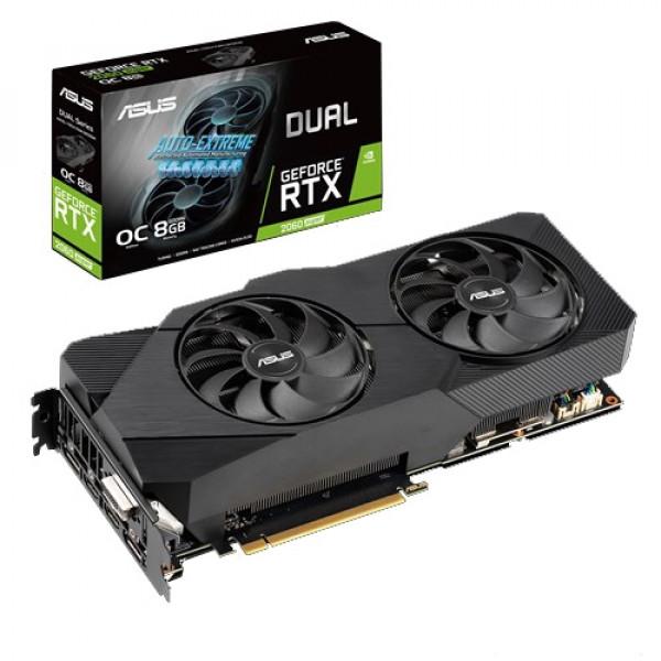 ASUS nVidia GeForce RTX 2060 8GB 256bit DUAL-RTX2060S-O8G-EVO