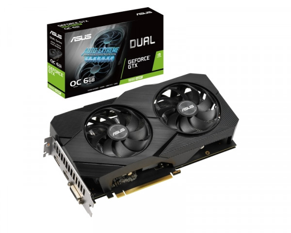 ASUS nVidia GeForce GTX 1660S DUAL-GTX1660S-O6G-EVO