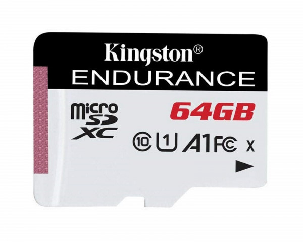 KINGSTON UHS-I microSDXC 64GB C10 A1 Endurance SDCE64GB