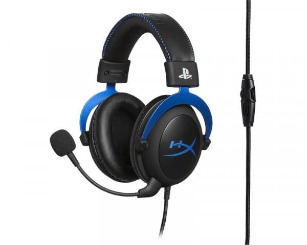 KINGSTON HyperX slušalice sa mikrofonom plave HX-HSCLS-BLEM