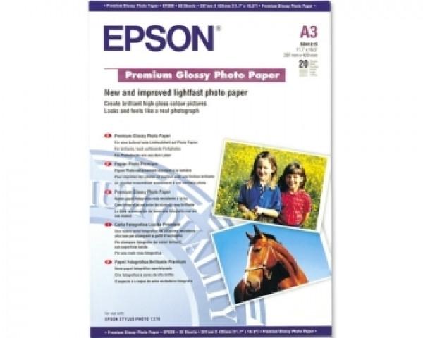 EPSON S041315 A3 (20 listova) Premium glossy foto papir