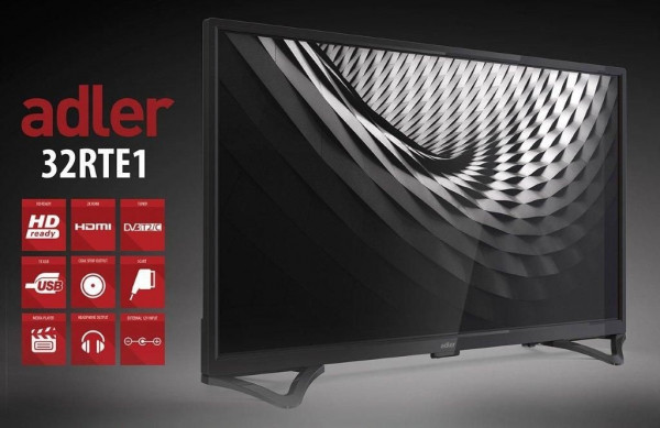 TV LED ADLER 32RTE1