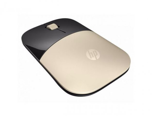 HP ACC Mouse Z3700 Gold Wireless Mouse, X7Q43AA