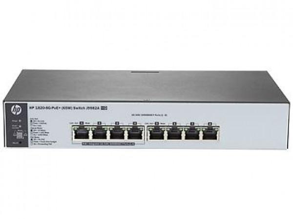 NET HP 1820-8G-PoE+65w  Switch, J9982A