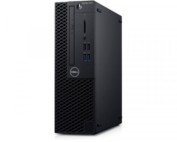 DELL OptiPlex 3070 SF i3-9100 4GB 1TB DVDRW Ubuntu 3yr NBD
