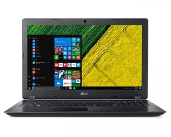 ACER Aspire A315-33-C0DK 15.6'' Intel N3060 Dual Core 1.6GHz (2.48GHz) 4GB 500GB 2-cell Windows 10 Home crni
