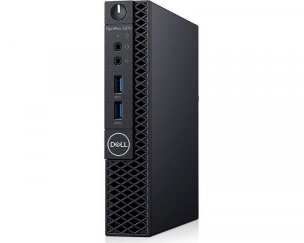 DELL OptiPlex 3070 Micro i3-9100T 4GB 128GB SSD NoODD Win10Pro 3yr NBD + WiFi
