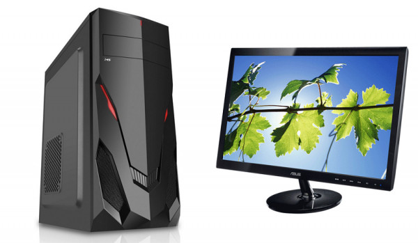 PC ORION 110 + monitor Asus