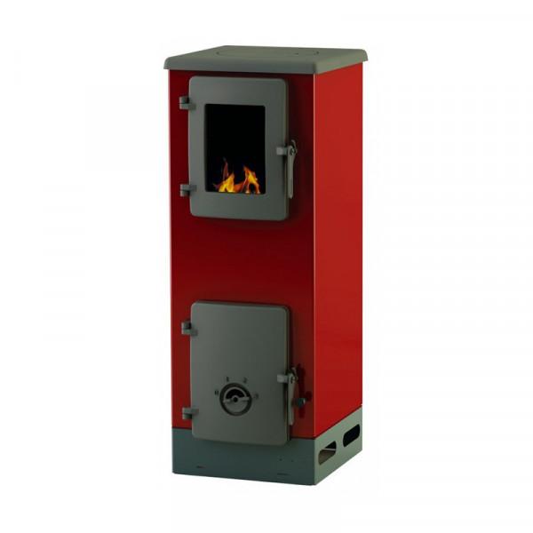 Peć na čvrsto gorivo Alfa Plam Vulkan S, crveni