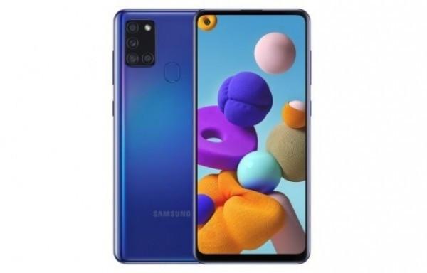 SAMSUNG Galaxy A21s (Plava), 6.5'', 464GB, 48Mpx+8Mpx+2Mpx+2Mpx