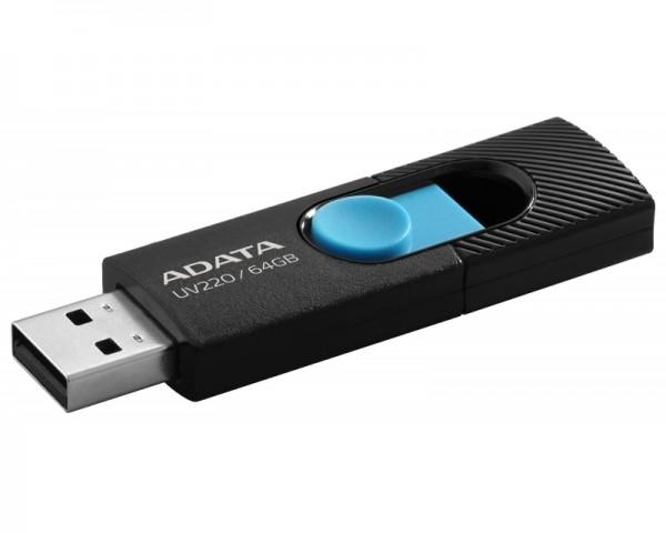 A-DATA 64GB 2.0 AUV220-64G-RBKBL crno plavi