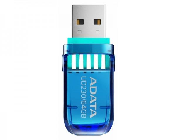 A-DATA 64GB 2.0 AUD230-64G-RBL plavi