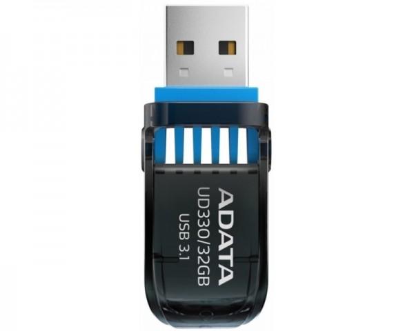 A-DATA 32GB 3.1 AUD330-32G-RBK crni