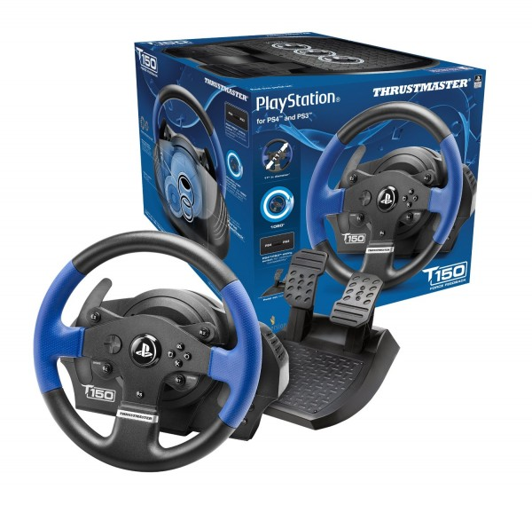T150 RS Force Feedback Wheel PC/PS3/PS4 025043