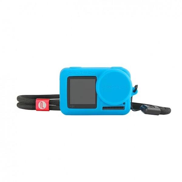 PGYTECH OSMO Action Silicone Rubber Case (Blue) P-11B-014