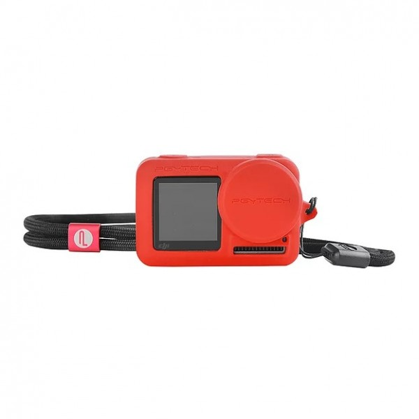 PGYTECH OSMO Action Silicone Rubber Case (Red) P-11B-013