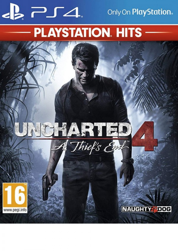 PS4 Uncharted 4: A Thief's End Playstation Hits