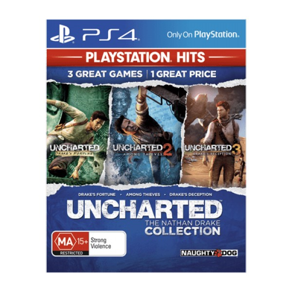 PS4 Uncharted Collection Playstation hits