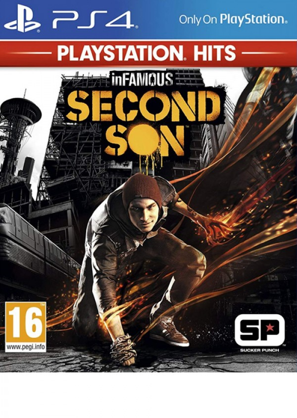 PS4 InFamous: Second Son Playstation Hits