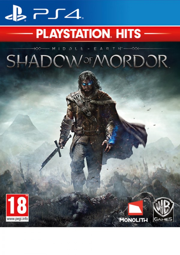 PS4 Middle-Earth: Shadow of Mordor Playstation Hits