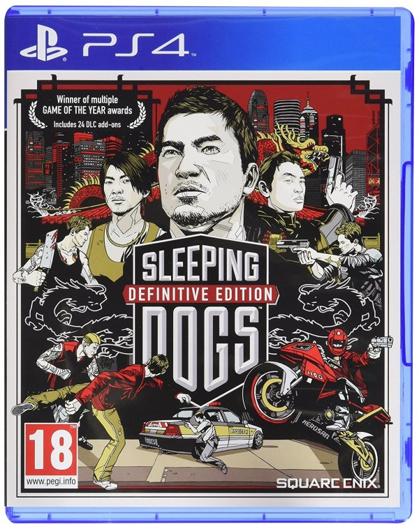 PS4 Sleeping Dogs Definitive