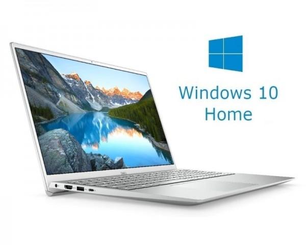 DELL Inspiron 5501 15.6'' FHD i5-1035G1 8GB 256GB SSD GeForce MX330 2GB Backlit Win10Home srebrni 5Y5B