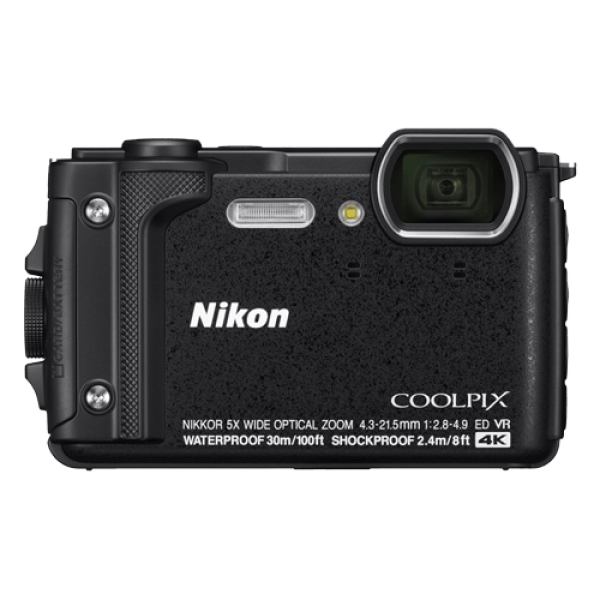 NIKON W300 (Crna) Holiday set