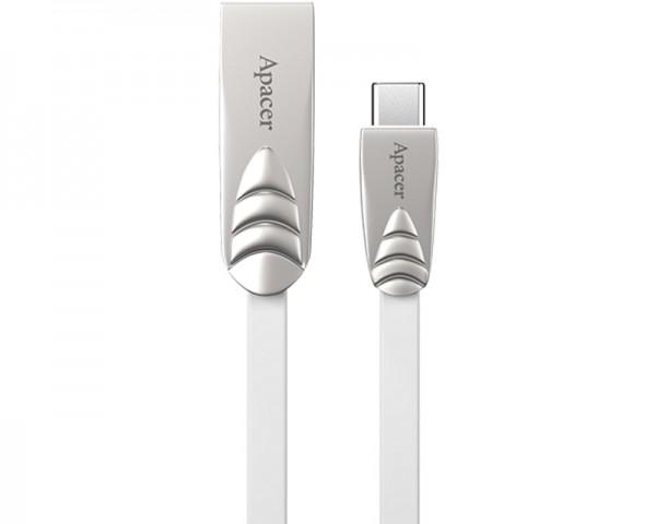 APACER Kabl Tip C - USB 2.0 Tip A DC112 srebrni
