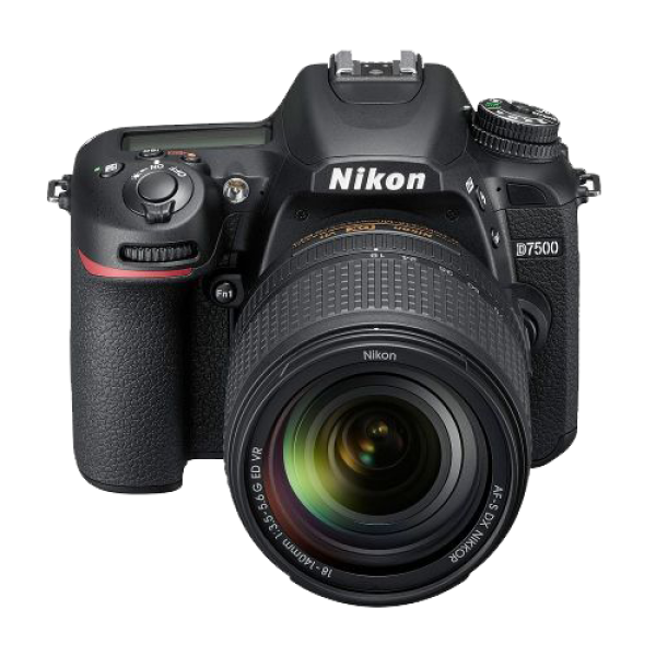 NIKON D7500 (Crna) + objektiv 18-140mm VR