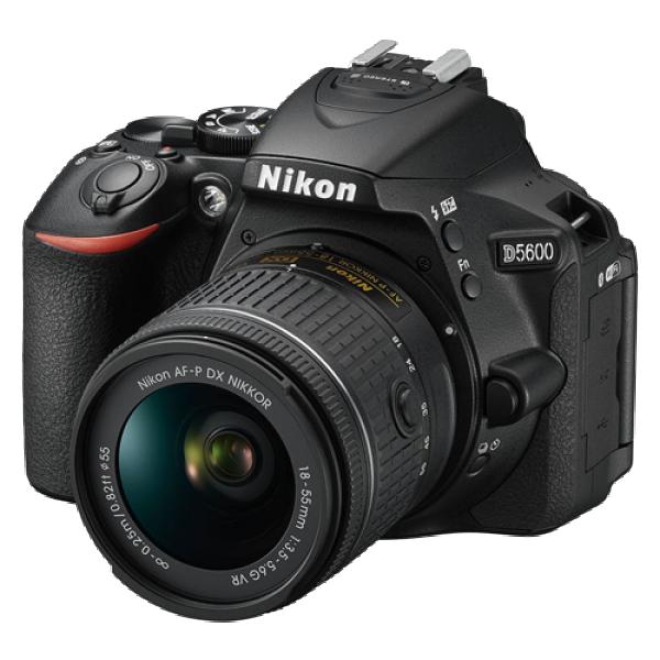 NIKON D5600 + objektiv 18-55 mm VR (Crna)