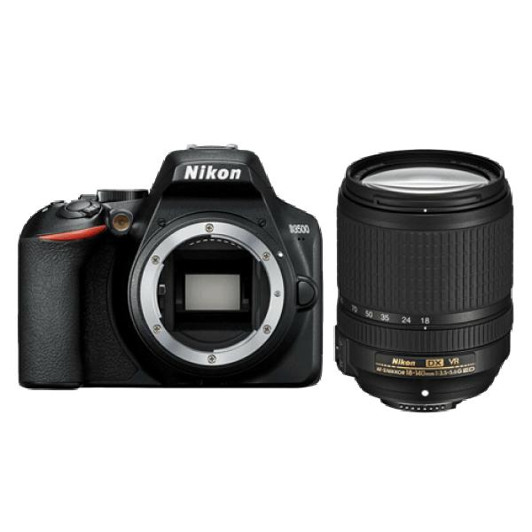 NIKON D3500 + objektiv AF-S 18-140 VR