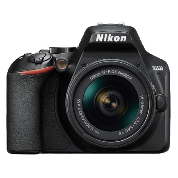 NIKON D3500 + objektiv AF-P 18-55 VR