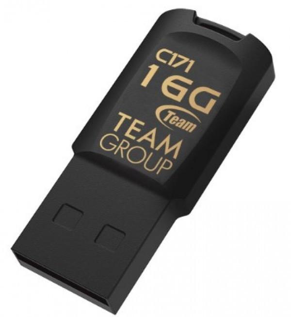 TeamGroup 16GB C171 USB 2.0 BLACK TC17116GB01