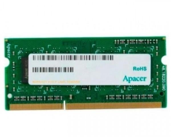 APACER SODIMM DDR3 4GB 1600MHz DS.04G2K.KAM