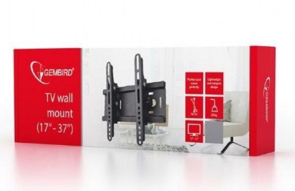 WM-37T-01 Gembird TV nosac fiksni/tilt 17-37'' VESA max.20x20cm, max 25kg, drzac