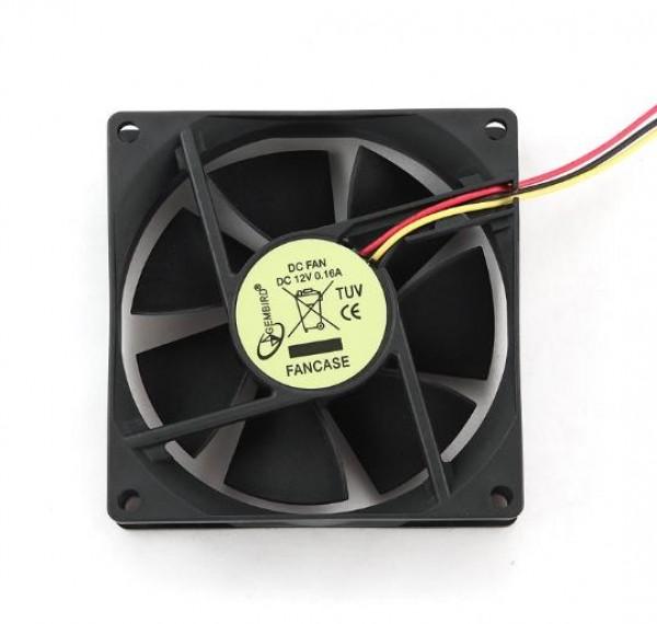 FANCASE Gembird ventilator za kuciste 80x80x25mm